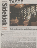 Rich Tastes and Revitalized Space